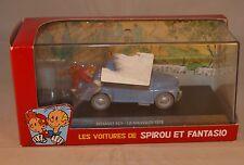 Les voitures de Spirou et Fantasio Renault 4 CV La Mauvaise tête neuf  en boite