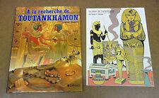 JACOBS / FOLLET - A LA RECHERCHE DE TOUTANKHAMON + MINI HISTOIRE EN 4 PLANCHES
