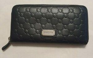 Oroton Black Leather Wallet