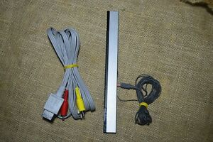 Nintendo Wii AV Cable and Motion Sensor Bar Bundle
