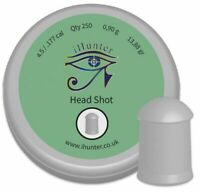 iHunter Headshot  Air Gun Pellets .177 / 4.5mm cal Qty 250 Free P&P