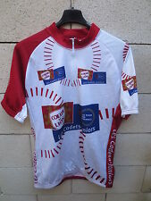 VINTAGE Maillot cycliste TOUR DE FRANCE 1999 CadetS Juniors Coeur de Lion shirt