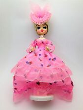 Vintage Big Eyed Bradley Doll Blonde with Southern Hat