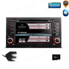 "for Audi A4 S4 RS4 Car Stereo 2 DIN Radio DVD USB 7"" GPS NAV System Audio Camera"