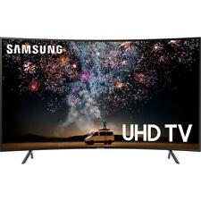 "Samsung 55"" RU7300 Charcoal Black Curved LED 4K UHD Smart HDTV - UN55RU7300FXZA"