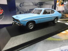Ford Capri MKI RS 3100 rs3100 Street Blue + alerón Corgi Vanguards 1:43