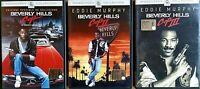 BEVERLY HILLS COP - LA TRILOGIA (I + II + III) Eddie Murphy - 3 DVD EX NOLEGGIO