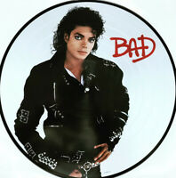 Michael Jackson - Bad - Picture Disc Vinyl LP *NEW*