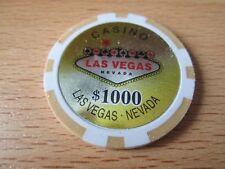 Pokerchip Las Vegas 1000,- $ neu