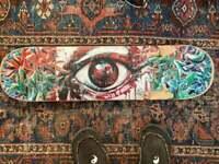 Chris Sukut 2012 Painted Skateboard Art | Broken