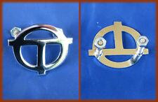 FIAT ABARTH 1000 COUPE' OT 850 - OT chromed metal badge script