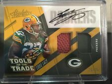 2017 Absolute tools of the trade auto #d 26/35 eddie lacy packers /seahawks