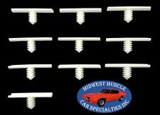 Mopar Chrysler Plymouth Dodge Desoto Jeep Wiring Harness Retainer Clips 10pcs LT