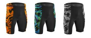 Aero Tech Designs Wave Cycling Bike Shorts Padded Spandex Biking Short USA Made