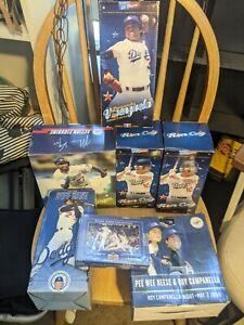 Los Angeles Dodgers SGA Bobblehead Lot Die Hard Fan Valenzuela Kemp CEY Reese