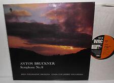 ST 772/3 Bruckner Symphony No.8  Berlin Philharmonic Orc Herbert Von Karajan 2LP