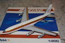 Seattle Model Aircraft 1/200 Alaska Arlines Boeing 720 Golden Nuggett N57201 NIB