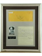 """""""Three Stooges"""" Larry Fine Photo and Letter Lot 143"""