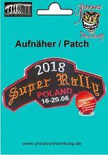 SUPER RALLY  Polen Biker Event 2018 PATCH