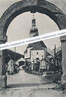 Ramsau bei Berchtesgaden - Kirchhof - um 1925 Q 24-13