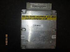 92 93 FORD MUSTANG 2.3 ECM #F1ZF-12A650-CB  *See item description*(F-3812)