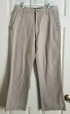 Old Navy 30W × 30L Loose Fit Beige Khaki Pants ~ Fits 31 × 29