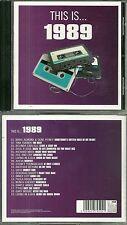 CD - 1989 avec TINA TURNER, RICHARD MARX, PAULA ABDUL, NENEH CHERRY SIMPLE MINDS