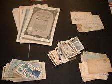 25 OLD GERMAN ITEMS  WW1/WW2 ORIGINAL MEMORABILIA DOCUMENTS