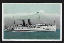 SS Yale, Puget Sound Steamship, West Coast Fast Passenger Service