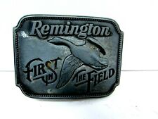 First In The Field Canada Goose Belt Buckle  Remington