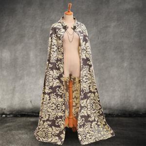 Medieval Cape Cloak Royal Style Cape Vintage Middle Ages Costume Renaissance