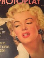 Vintage Collectible Movie Magazine Marilyn Monroe Photoplay Feb 1953