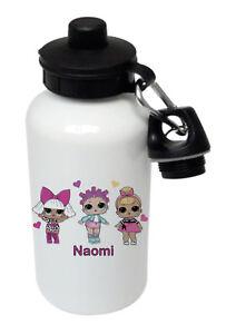 LOL Dolls - Personalised Kids/Drinks/Sports Childrens Water Bottle