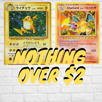 MASSIVE Pokemon Card SALE - NOTHING OVER $2 - HUGE DISCOUNTS WOTC AND MORE