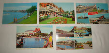 Five Vintage 1960's-70's? Postcards of St Annes-on-Sea (Colourmaster, Dennis)