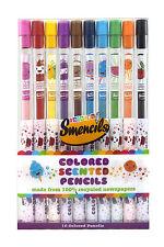 Scentco Scented Color Pencils  ( Smencils ) - 10 pack