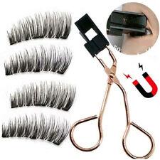 Pairs Magnetic Eyelashes Kit with Glue-free Magnetic Eyelash Clip Curler Sets