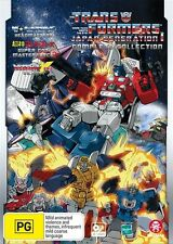 Transformers Japan Generation 1 Complete Collection NEW R4 DVD