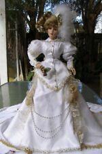 KRISTINA Franklin Mint Christmass heirloom doll