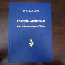 Արևելահայերենը Անգլիախոս ENGLISH Speaking Learn EASTERN ARMENIAN CD Dora Sakayan