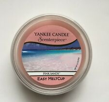 YANKEE CANDLE SCENTERPIECE PINK SANDS EASY MELT CUP FREE SHIPPING