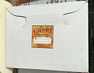 Inkjet Canvas  8.5 x 11 inch  Size Poly cotton  x 10 Shts Pk USA  Capri Brand