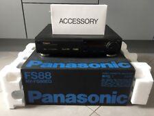 Panasonic nv-fs88 High-End S-VHS VCR videoregistratore Incl. SCATOLA ORIGINALE, 2 ANNI GARANZIA