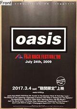 Oasis FUJI ROCK FESTIVAL '09 Promotional Poster (Japanese)