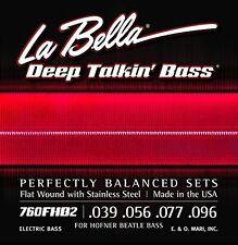 Hofner Beatle Bass Deep Talkin' Bass Strings 4-Set by La Bella