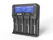 XTAR DRAGON VP4 PLUS PREMIUM LCD 4-Schacht LADEGERÄT Li-Ion Ni-Mh 3s Li-Ion Akku