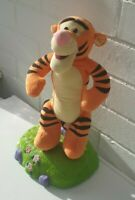 Disney Talking Tigger Bouncing Thinkway Toy - Tested Working -