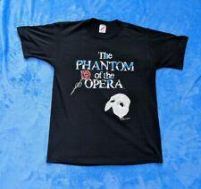 VINTAGE THE PHANTOM OF THE OPERA Large T-shirt 1988 Jerzees