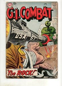 """G. I. Combat #68 """"The Rock"""" Sgt Rock Prototype KEY Pre-Our Army at War 83 VG 4.0"""
