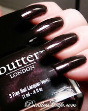 Butter London in BRANWEN'S FEATHER Nail Polish ~ Purple/Black Shimmer ~ 3-Free